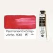 Pannoncolor olajfesték permanent középvörös 839 22 ml