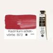 Pannoncolor olajfesték kadmium sötétvörös 873 22 ml
