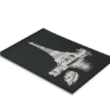 Mona Lisa vázlatfüzet fekete papírral 150g 40 lap A4 felül spirálos