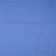 Pamutvászon apró körmintás kék