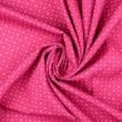 Pamutvászon apró körmintás pink