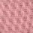 Pamutvászon pöttyök, körívek rózsaszín-bordó