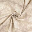 Pamutvászon batikolt drapp