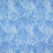 Pamutvászon pixel mintás világoskék