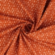 Pamutvászon mákvirág narancs