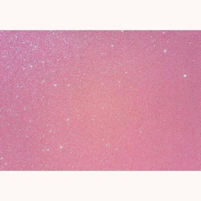 csillámos dekorgumi 2 mm A4 rózsaszín