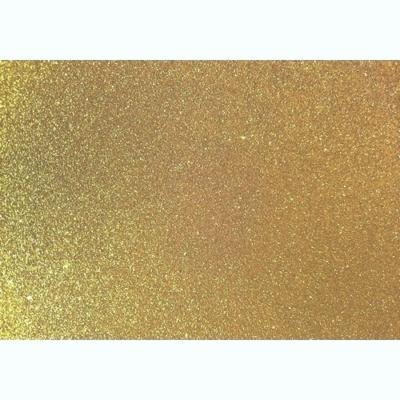 csillámos dekorgumi 2 mm A4 arany