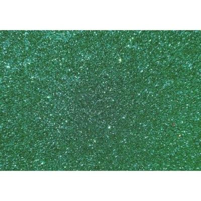 csillámos dekorgumi 2 mm A4 zöld