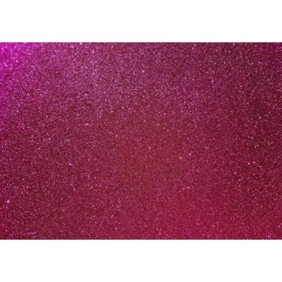 csillámos dekorgumi 2 mm A4 sötétrózsaszín