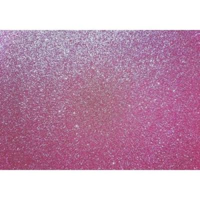 csillámos dekorgumi 2 mm A4 világosrózsaszín