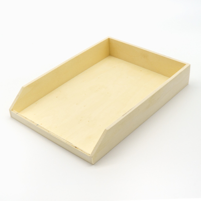 Fa irattartó tálca A4-es papírhoz