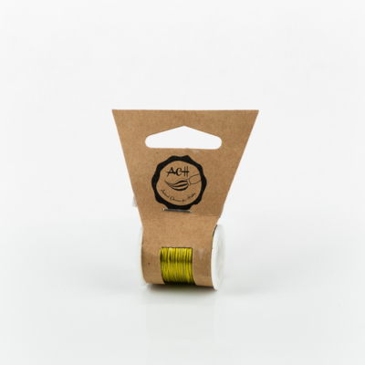 Gyöngyfűződrót réz 0,3 mm 10 m arany