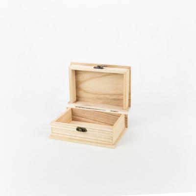 Fa doboz könyv formájú 15×10×6,5 cm
