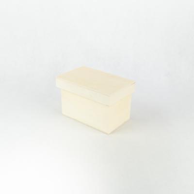 Fa doboz tetővel  15,2×9,6×10,1 cm