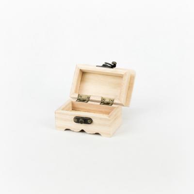 Fa fedeles doboz míves 9×5,5×5,5 cm