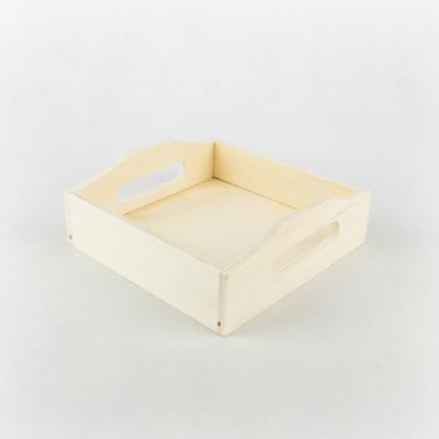 Füles tálca kicsi 16,5×16,5 cm