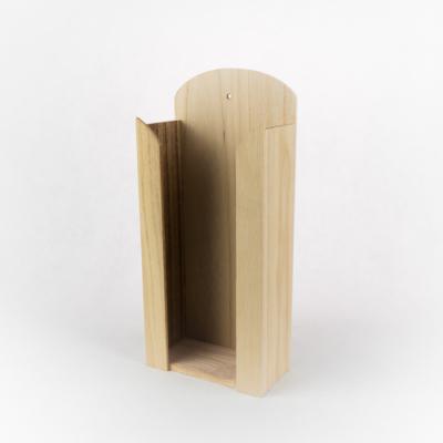 Fa papírzsebkendő tartó nagy 29×13×6,5 cm