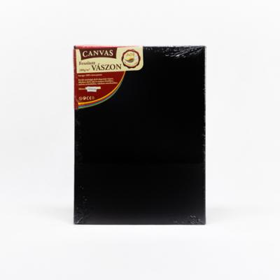 Feszített vászon hobbi 30×40 cm fekete