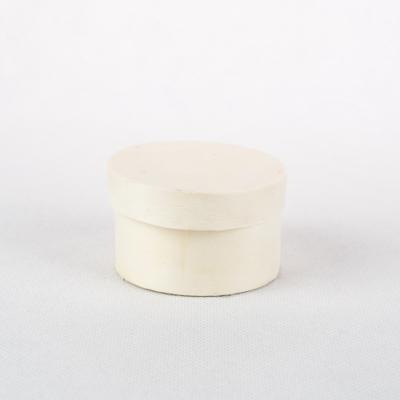 Háncs doboz kerek 6×3,5 cm