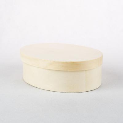 Háncs doboz ovális 13,5×10×4,5 cm