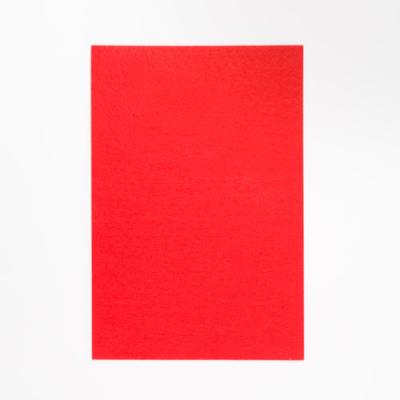 kemény filclap A4 piros