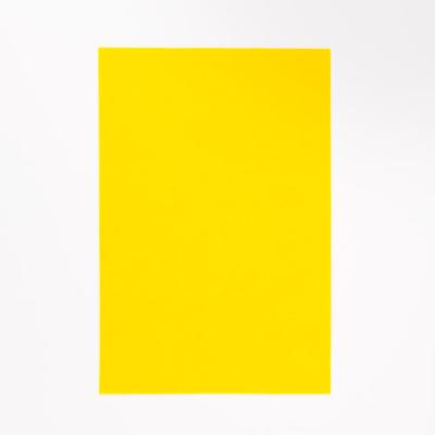 kemény filclap A4 citromsárga