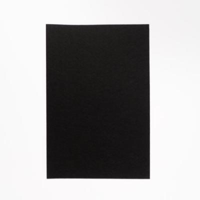kemény filclap A4 fekete