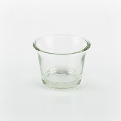 Mécsestartó üveg mini kehely 6,5 cm