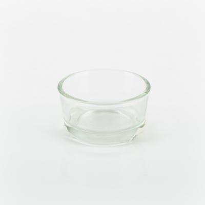 Mécsestartó üveg kerek 5 cm