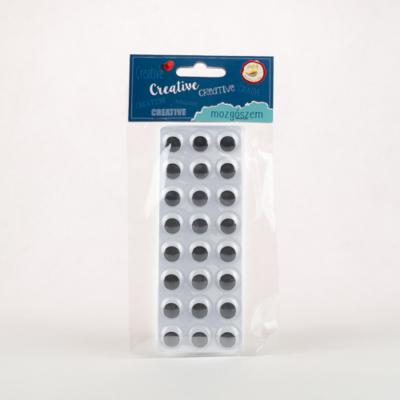 Mozgó szem öntapadós 48 db-os 15 mm