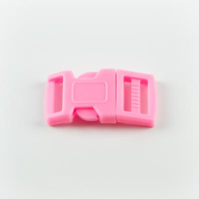 Műanyag csat 1,5 cm-es rózsaszín
