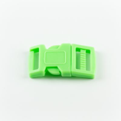 Műanyag csat 1,5 cm-es világoszöld