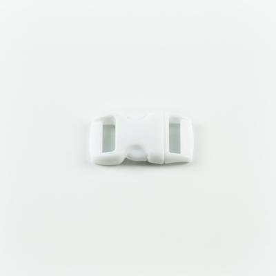 Műanyag csat 1 cm-es fehér