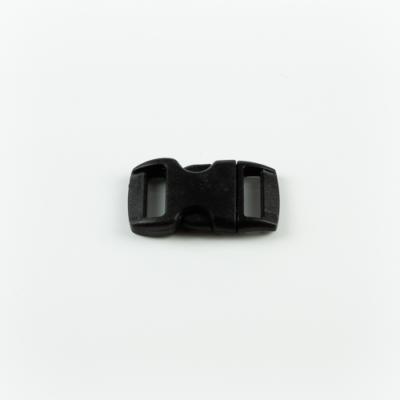 Műanyag csat 1 cm-es fekete