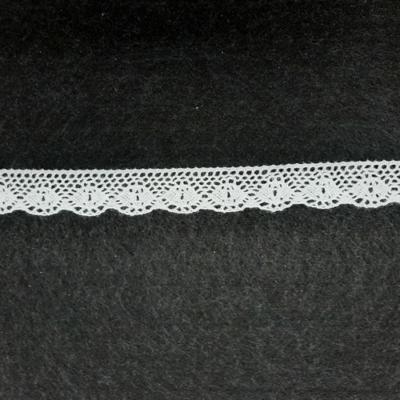 Pamut csipke  20 mm fehér