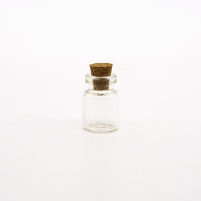 Üveg parafadugóval átmérő: 15 mm
