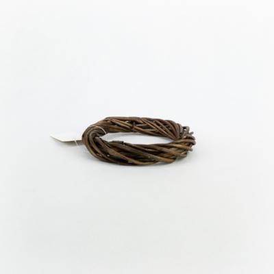 Vesszőkoszorú barna 15 cm
