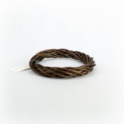 Vesszőkoszorú barna 20 cm