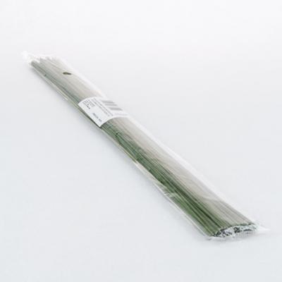 Virágkötő drót zöld bevonattal 100 szál 35 cm-es vastag