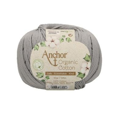 Anchor Organic Cotton fonal szürke