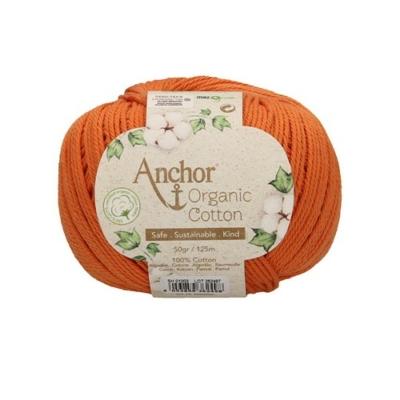 Anchor Organic Cotton fonal narancs