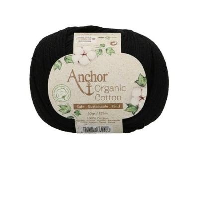 Anchor Organic Cotton fonal fekete