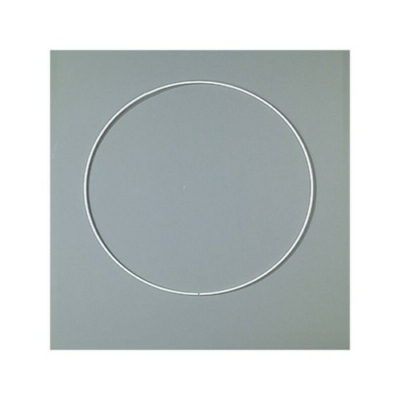 Horgolható fém alapkarika 20 cm