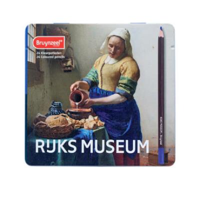Bruynzeel Rijks Museum  színesceruza készlet 24 db fémdobozos