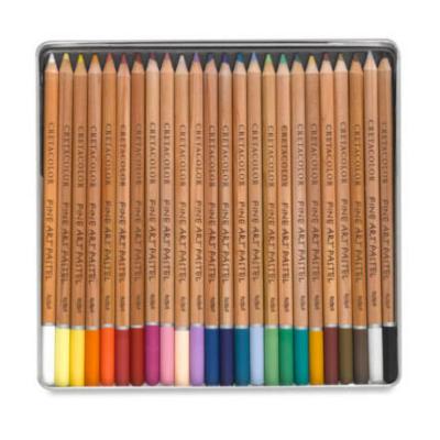 Cretacolor Fine Art Pastel pasztellceruza készlet 24 db fémdobozos