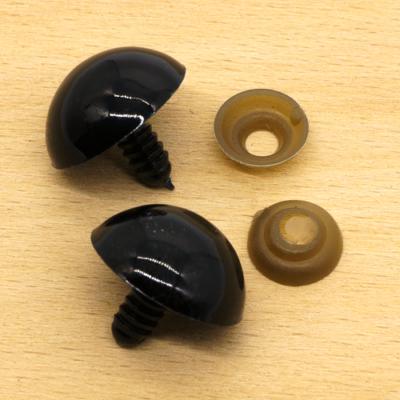 Biztonsági szem fekete 24 mm