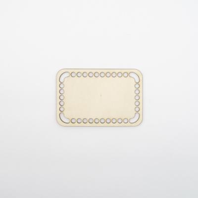 Fa horgolható alap téglalap 15×10 cm