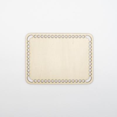 Fa horgolható alap téglalap 20×16 cm