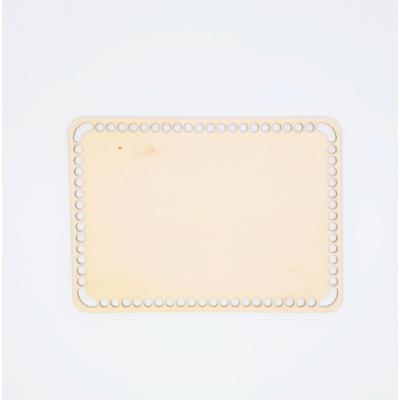 Fa horgolható alap téglalap 25×18 cm