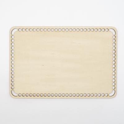 Fa horgolható alap téglalap 30×20 cm